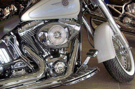 Harley Davidson, Motorbike, Harley, Motorcycle