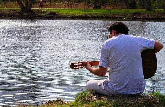 Music, Guitar, Instrument, Guitarist, Musician, Summer