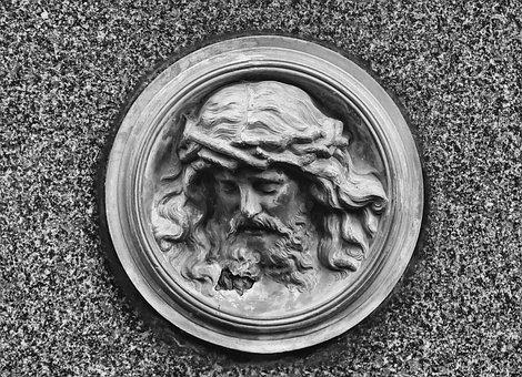 Relief, Jesus, Figure, Church, Stone Sculpture, Faith