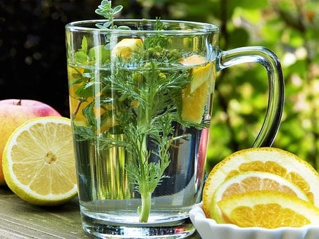 Tee, Herbs, Chamomile, Fruit, Lemon, Orange, Health