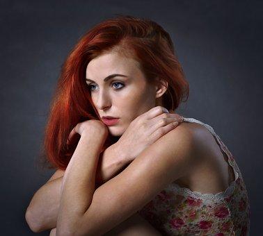 Girl, Woman, Sadness, Portrait, I Feel Sorry For, Loss