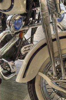 Harley Davidson, Motorcycle, Harley, Machine, Gloss