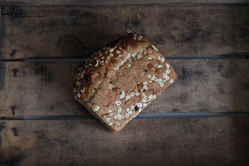 Muesli, Bread, Nuts, Raisins