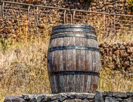 Barrel, Wooden Barrels, Wine Barrel, Storage, Old