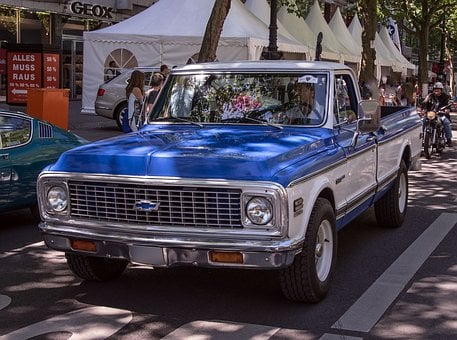 Chevrolet, Pickup, Auto, Oldtimer, Truck, Vehicle