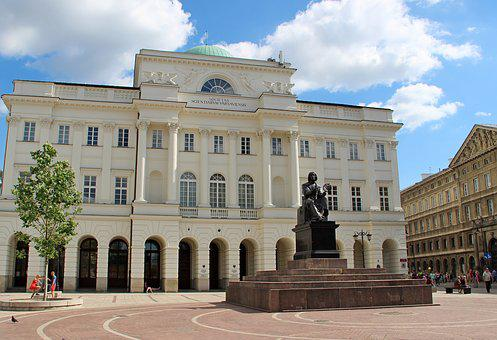 Poland, Warsaw, City, Krakow Suburb
