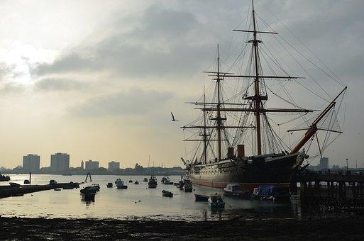 Sea, Sailing, Sail, Sailboat, Sunset, Vessel, Nautical