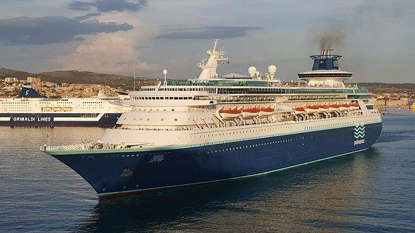 Cruise Ship, Cruise, Ship, Pullmantur, Sovereign