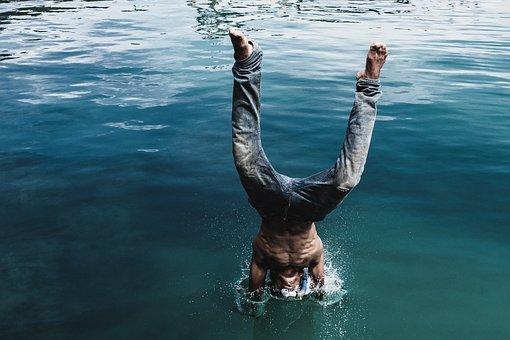 Sea, Splash, Water, Ocean, Nature, Spray, Movement
