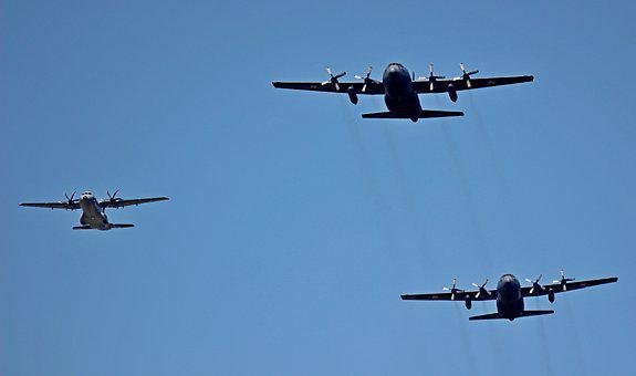 Airshow, The Army, The Military, Aviation, The Plane