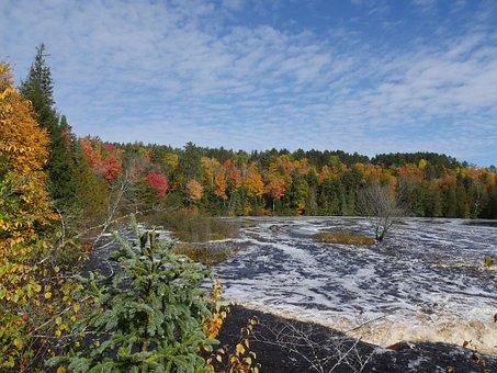 Waterfall, Northern Michigan, Upper Peninsula