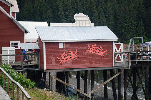 Alaska, Crab, Old, Fish, Coast, Net, Trap, Lobster, Sea