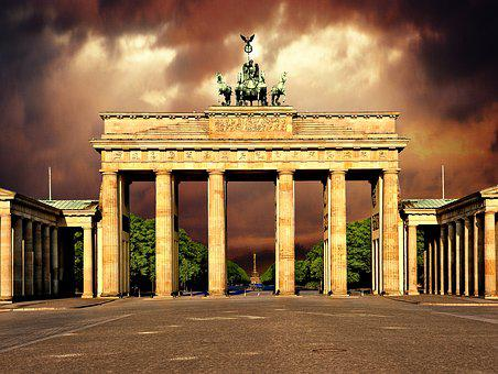Berlin, Brandenburg Gate, Landmark, Architecture