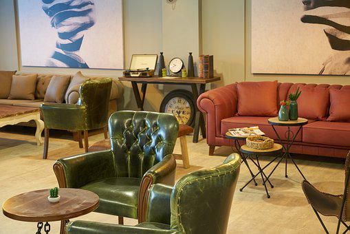 Furniture, Armchair, Chair, Lobby, Home, Hotel