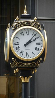 Clock, New York, Art