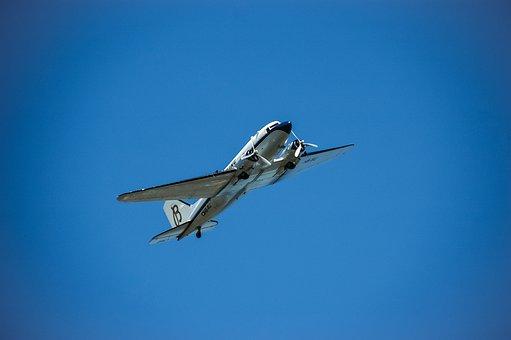 Aircraft, History, Airshow, Flight, Aviation, Propeller