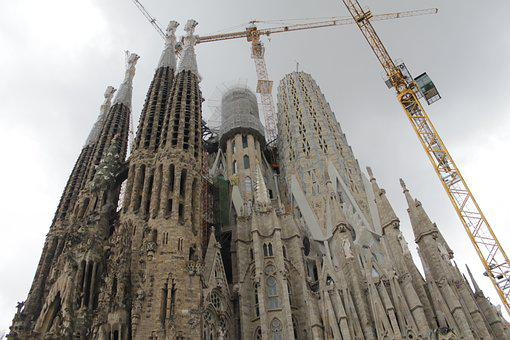Barcelona, Sagrada Family, Architecture, Landmark, Fun