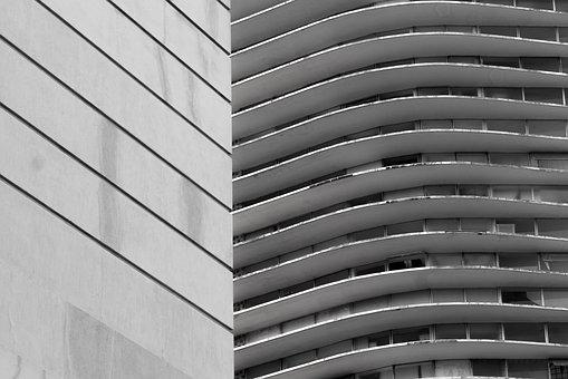 Black And White, P B, City, Belo Horizonte
