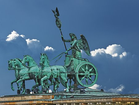 Berlin, Brandenburg Gate, Quadriga, Landmark