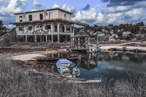 House, Abandoned, Building, Decay, Broken, Dilapidated