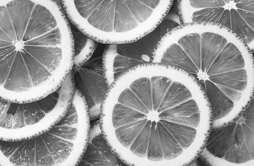 Acid, Background, Black And White, Bw, Citric, Citrus