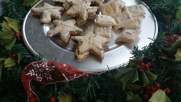 Christmas, Thanksgiving, Fall, Cookies, Star, Platter