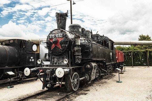 Steam, Engine, Nopeople, Metal, Museum, Steam Engine