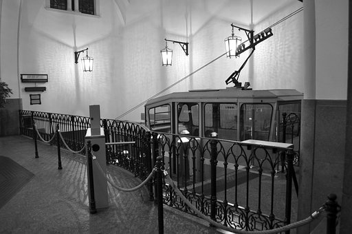 Funicular, Bergamo, Trip, Transport, Outdoors
