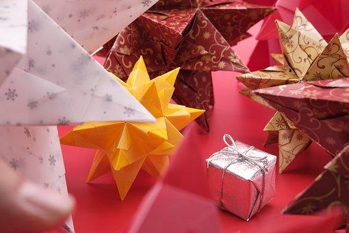 Gift, Give, Star, Bascetta Star, Bascetta, Christmas