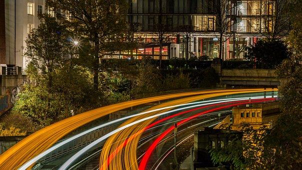 Hamburg, Metro, Architecture, Stop, Hanseatic City