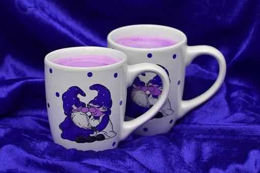 Christmas, Coziness, Milk, Blueberry, Fruit, Cup, Imp