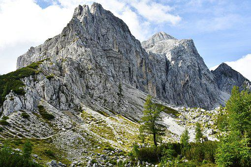 Julian Alps, Rock, Slovenia, Mountain, Mountains