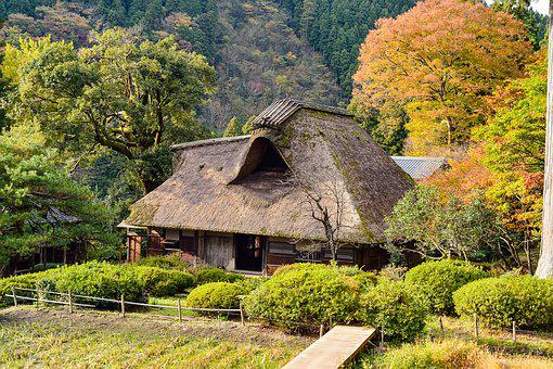 Japan, Landscape, Japanese Style, Old Houses