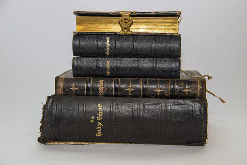 Bible, Hymnal, Old, Church, Books, Believe, Religion