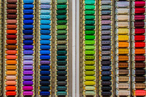 Rows, Threads, Colors, Order, Haberdashery, Reels