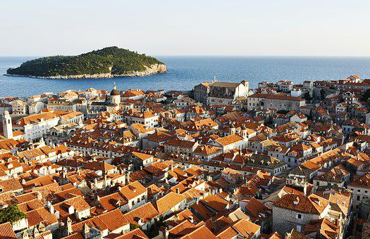 Panorama, Old Town, City, Roofs, Red Roofs
