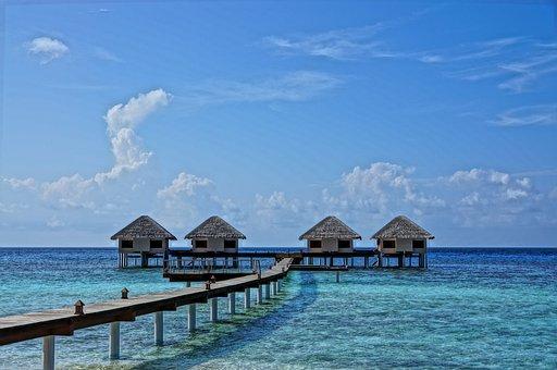 Maldives, Nature, Coastal, Travel, Holiday, Sand, Water