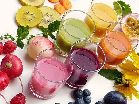 Smoothies, Juice, Fruit, Vegetables, Healthy, Detox