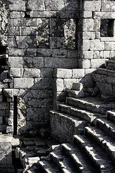 Old, Ancient, Stairs, Antique, Historical, Architecture