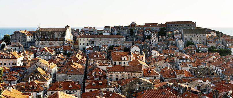 Roofs, Stony Houses, Architecture, Building, Dubrovnik