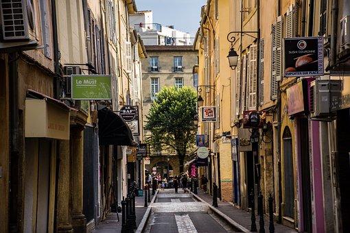 Aix-en-provence, City, Street Life, Street Scene