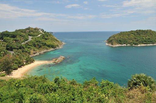 Landscape, Thailand, Beach