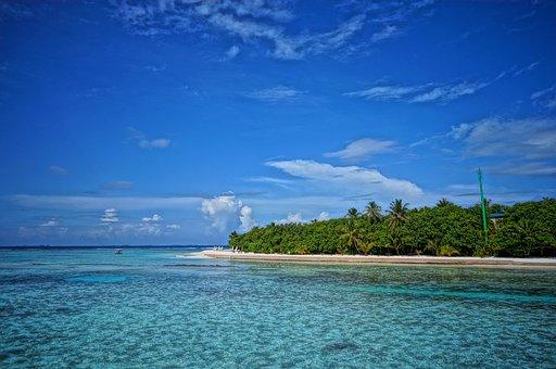 Maldives, Nature, Beach, Travel, Sand, Sky, Island