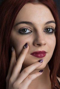 Facial, Woman, Portrait, Beauty, Skin, Eyes