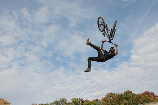 Action, X-treme, Dirtbike, Sport, X-treme Sports, Crazy