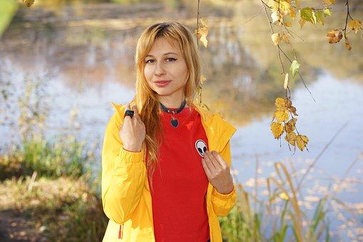 Portrait, Autumn, Autumn Clothing, Bright Clothes