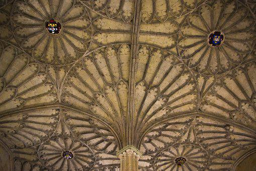 Kings College, Oxford, Blanket, England, Ornament