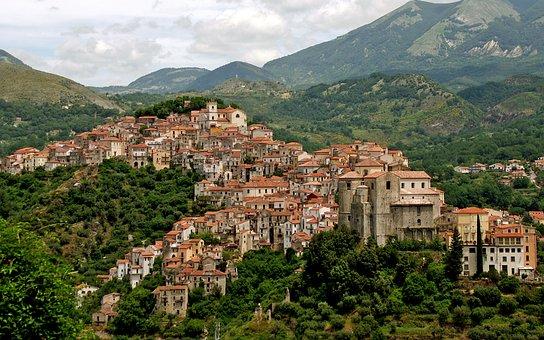 Rivello, Borgo, Country, Basilicata, Italy