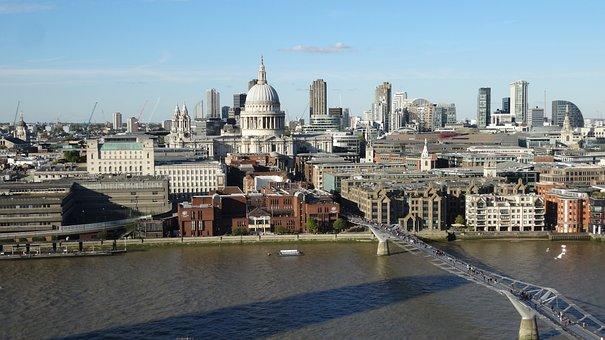 London, Cathedral, Rio, Bridge, Architecture, City