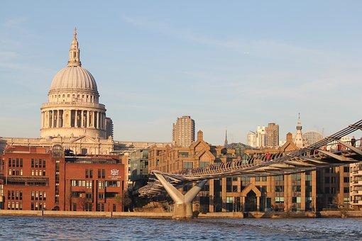 St Paul's Cathedral, London, England, Bridge